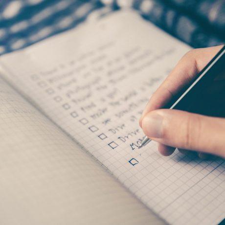 Checklist bpf